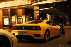 Ferrari 360 (Waqar_Ahmed) Tags: night canon spider shot awesome australia melbourne 360 ferrari casino crown modena supercar v8 crowncasino 360modena waqar ferrari360spider ferrari360modena 360spider 400d