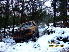 Guitiriz - Lugo  2009 (adolfo_lulo) Tags: espaa snow 4x4 nieve galicia lugo toyotalandcruiser guitiriz lj70