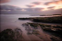 (Diego Tabango) Tags: ocean california longexposure sunset santacruz beach nikon rocks sigma d300 diegonyc