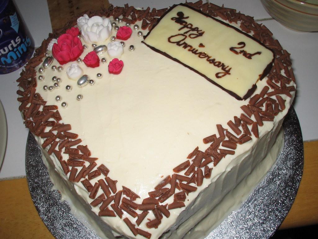 Jenny's 2nd Anniversary Cake