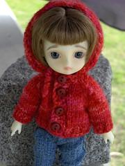 Bbb Hoodie (KristinKreations ( )) Tags: sweater doll erin handmade