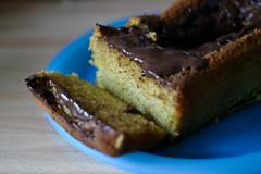 Jaffa cake loaf