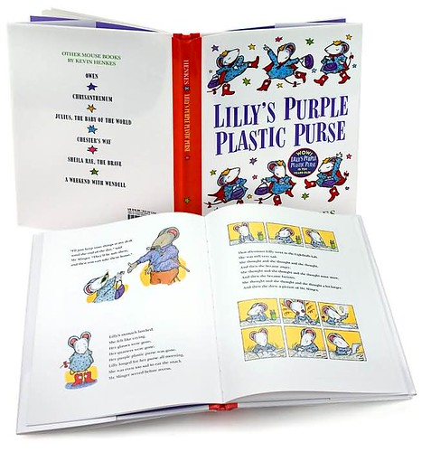 Top 100 Picture Books #11: Lillys Purple Plastic Purse by Kevin Henkes