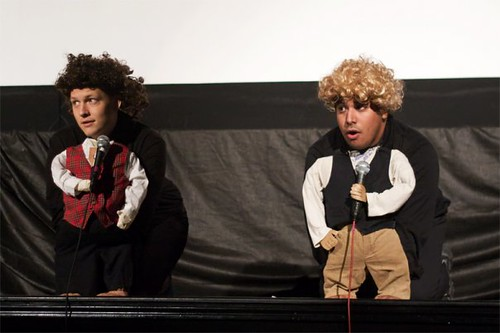 Joe and David as Hobbits. Photo by Heather Leah Kennedy.