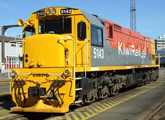 DXB 5143 Wellington NZ (AA654) Tags: newzealand rail railway loco nz wellington locomotive dxb kiwirail