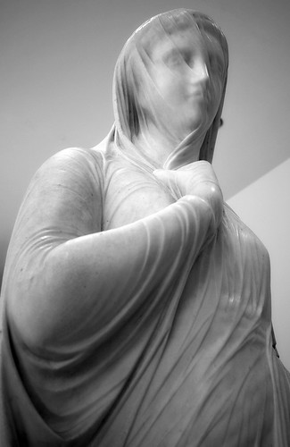 The Veiled Rebecca, by Italian sculptor Giovanni Maria Benzoni