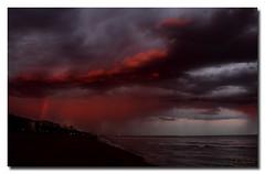 Lluvia cida (L. F. Salas) Tags: barcelona canon calafell playa tormenta 50d mywinners platinumphoto