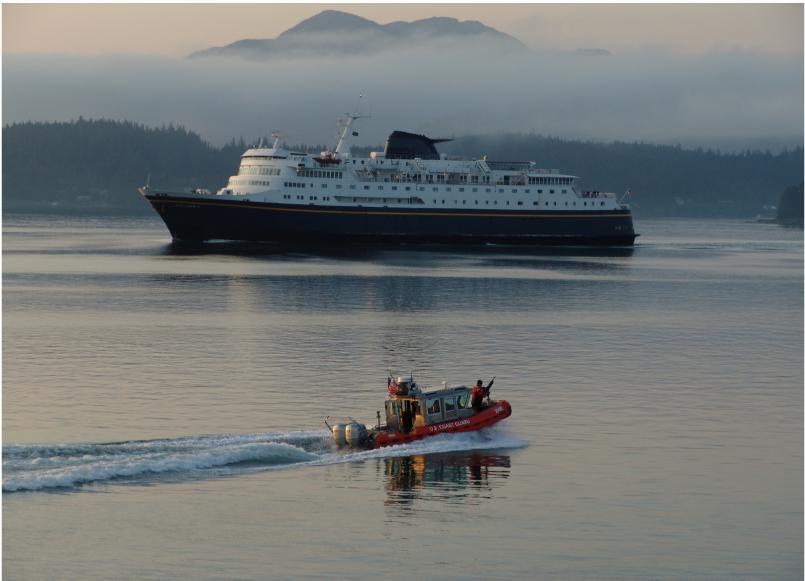 Alaska Marine Highway System Ferry Columbia Coast Guard