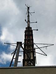 Foshay Antenna (MSPdude) Tags: above tower minnesota canon observation star minneapolis powershot deck antenna foshay s5is