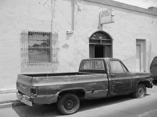 Street scene, Matamoros, Mexico.