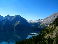 From Mount Indefatigable (Jimmy - home now) Tags: trees mountain lake canada tree calgary alberta kananaskiscountry mywinners abigfave theperfectphotographer goldstaraward