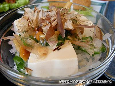 Another tofu dish