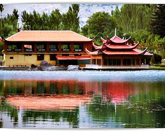 The Shangrilla Resorts ((s@jj@d)~`~DiL~AwAiZ~`~ Back) Tags: blue pakistan red portrait sky white lake black colour reflection green love nature water beautiful beauty portraits reflections asia pakistani lover lovely syed nwfp pabbi shah shangrilla dil sajjad peshawer nowshera chirat awaiz dilawaiz