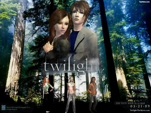 Twlight sims 2 DVD cover by yaяniє.