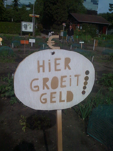 hier groeit geld by you.
