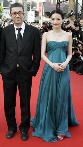 Turkish director Nuri Bilge Ceylan and Taiwanese actress Shu Qi