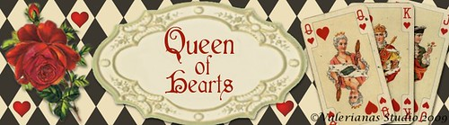 Queen of Hearts Banner