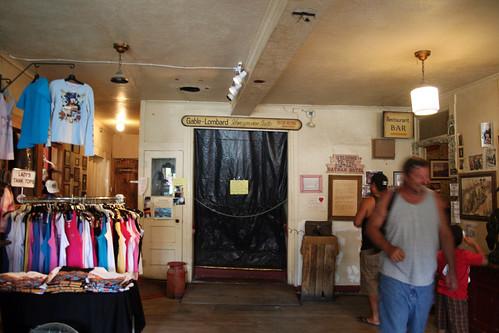 Inside Oatman Hotel