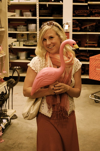 Stacey and I could make flamingos work