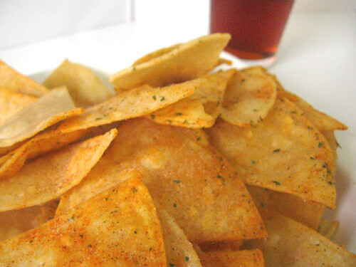 Homemade Doritos. Mmmm.