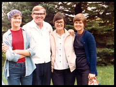 1978 abt - Ann, Sid, Lavera and Dawn