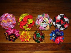 collection 2 (jennrbeee) Tags: origami arabesque kusudama