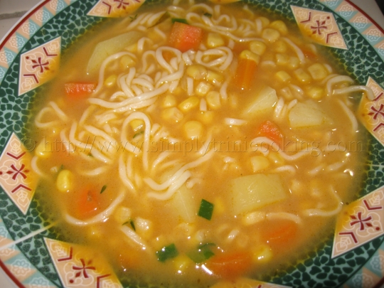 a Simple Soup