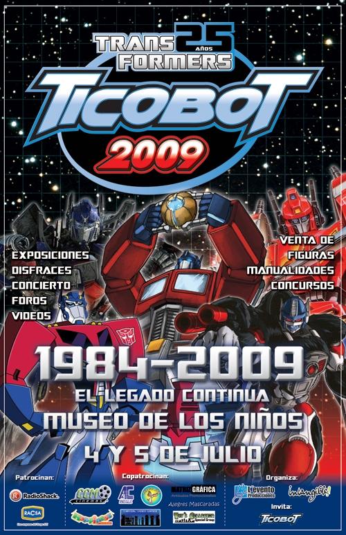 Afiche oficial de Ticobot 2009