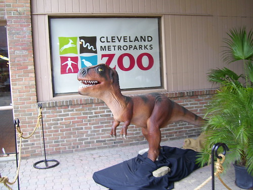 Cleveland Zoo - Dinosaurs