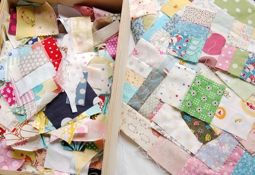 scrap quilt wip