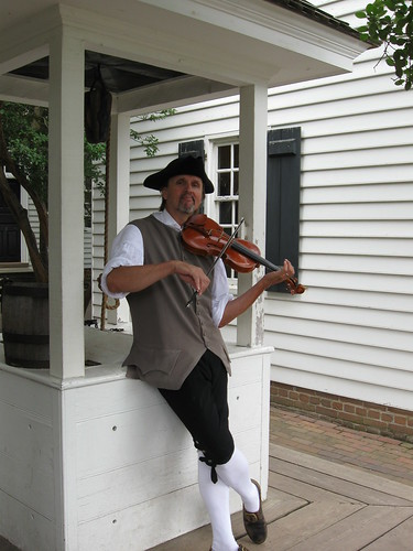 Fiddler at the Well