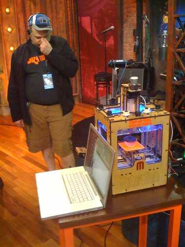 makerbot on jimmy fallon