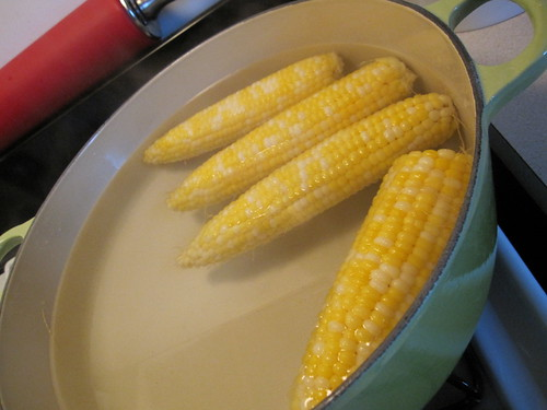 wherein I school America in how to properly cook corn.
