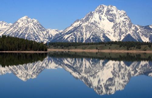 フリー画像| 自然風景| 山の風景| 湖の風景| グランドティトン国立公園| アメリカ風景|      フリー素材|