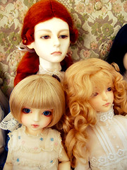 Red-Headed Stepchild (holy-molybdenum) Tags: dolls bjd jessamine petiteai customhouse souldoll bermann dollshe tiffee ramiel wrolf nanalice
