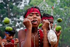 For the sake of Lord Shiva..... (subirbasak) Tags: portrait people india face festival child fair hinduism childportrait indianpeople gajan indianritual subirbasak traditionalritual traditionalritualofindia chadakpuja gajanfestival chaitrasamkranti indiantraditionalritual childreninritual childinritual