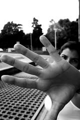 choquela (Mauricio Bedoya) Tags: blancoynegro blackwhite bw bn retrato portrait canon canonxsi canonxsi450dpies feet foot pie mano hand piedra piedras stones rock finger nail dedo ua reloj mauriciobedoya