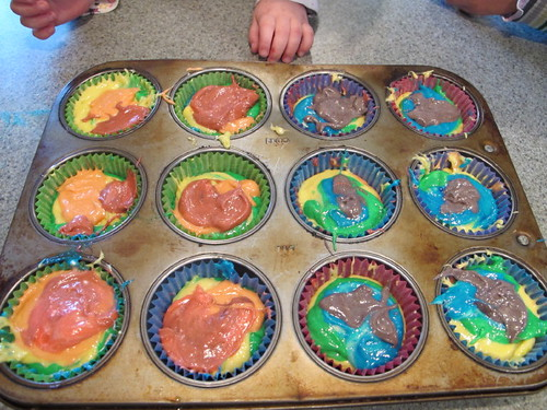 Rainbows are ready for the oven