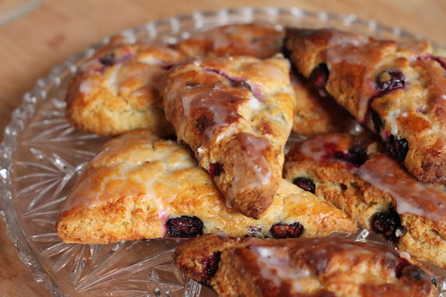 lemon blueberry scones 1