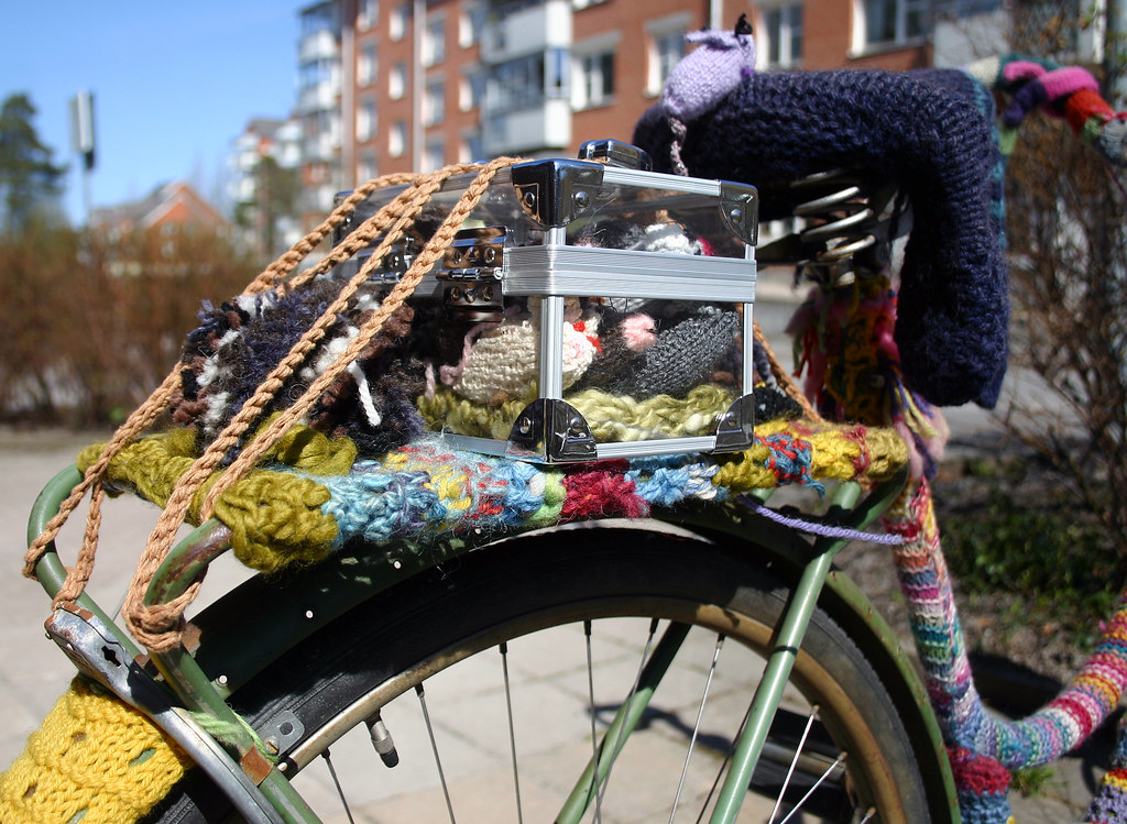 A Knitted Bike