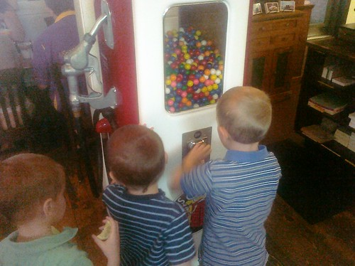 Gumball machine at Joe's Real BBQ in Gilbert