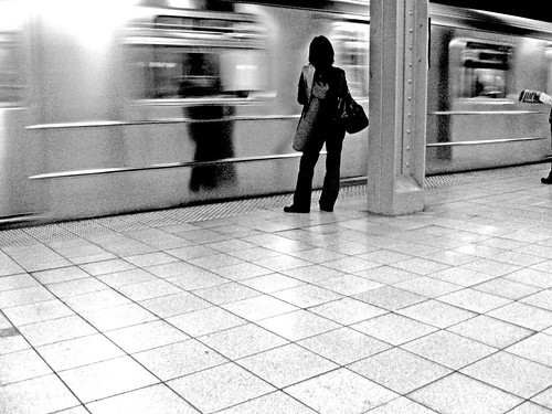 DAY 367:SUBWAY  ALONE