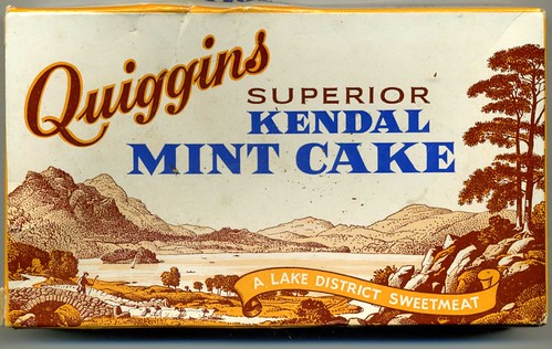 Quiggins superior Kendal Mint Cake  1970s - flckr - sludgegulper