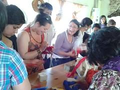 Compartiendo saberes en Villa Ortega