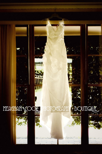 the stunning dress - geelong wedding photographer