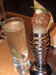 cocktail and meatball