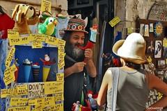 Erice (TP) (ObiOne 54) Tags: sony alpha divertenti  puppetman sonyalpha obione foto