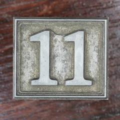 Calendar Number 11