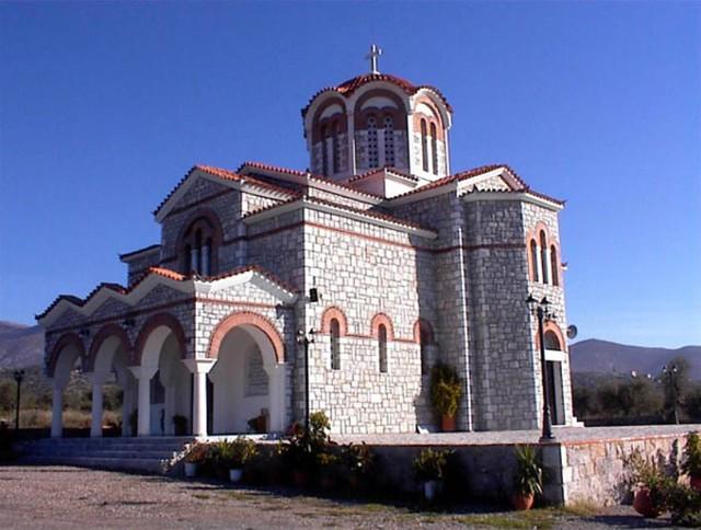Πελοπόννησος - Λακωνία - Δήμος Γερoνθρών Ο ναός του νεομάρτυρος Ιωάννη του Γερακίτη στο Γεράκι