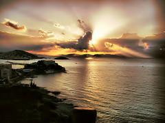 Kusadasi SunseT (aliaydogmus35) Tags: sunset color nature tramo